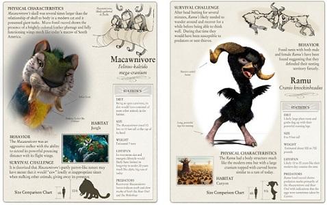 和梦工场一起疯狂幻想!来《疯狂原始人》创造专属你的史前动物
