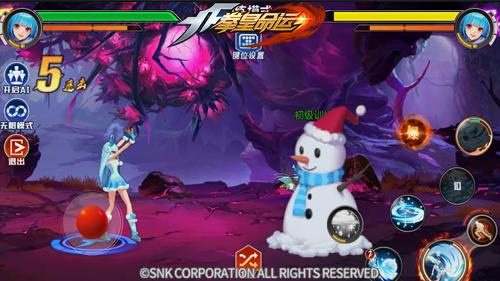 与雪之精灵一起圣诞狂欢《拳皇命运》UR幻装格斗家库拉登场