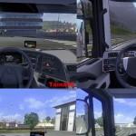 欧洲卡车模拟2内部360角度MOD v2.0