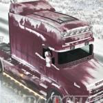欧洲卡车模拟2斯堪尼亚T冬天皮肤MOD v2.0