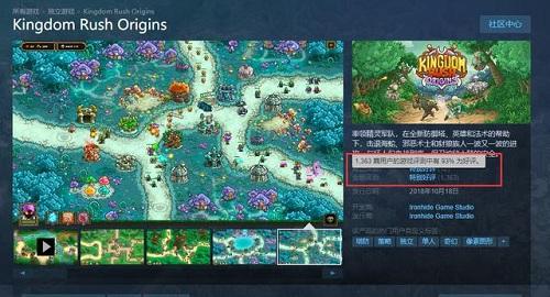 《王国保卫战:起源》:stram塔防经典游戏 好评如潮