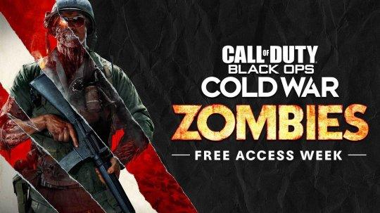 使命召唤17黑色行动冷战僵尸模式限免一周 全平台限时免费