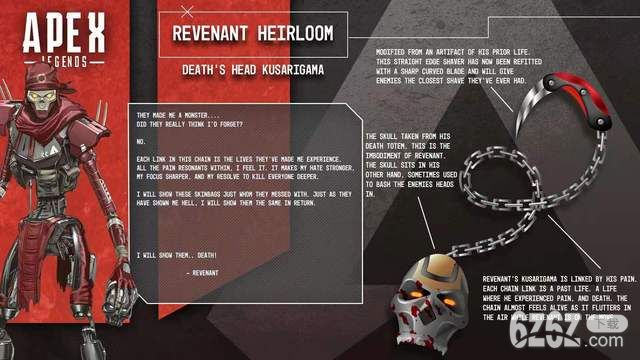Apex英雄玩家公开自己 Apex英雄亡灵传家宝的设计样式