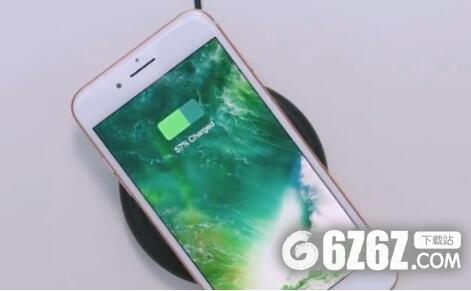 iphone8无线充电设置在哪里?