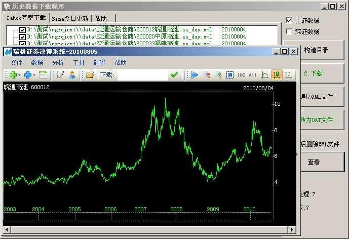 瑞格证券决策系统 20110303正式版