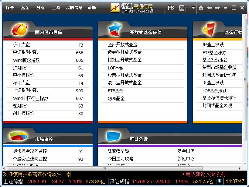 搜狐高速行情 v1.0.0正式版