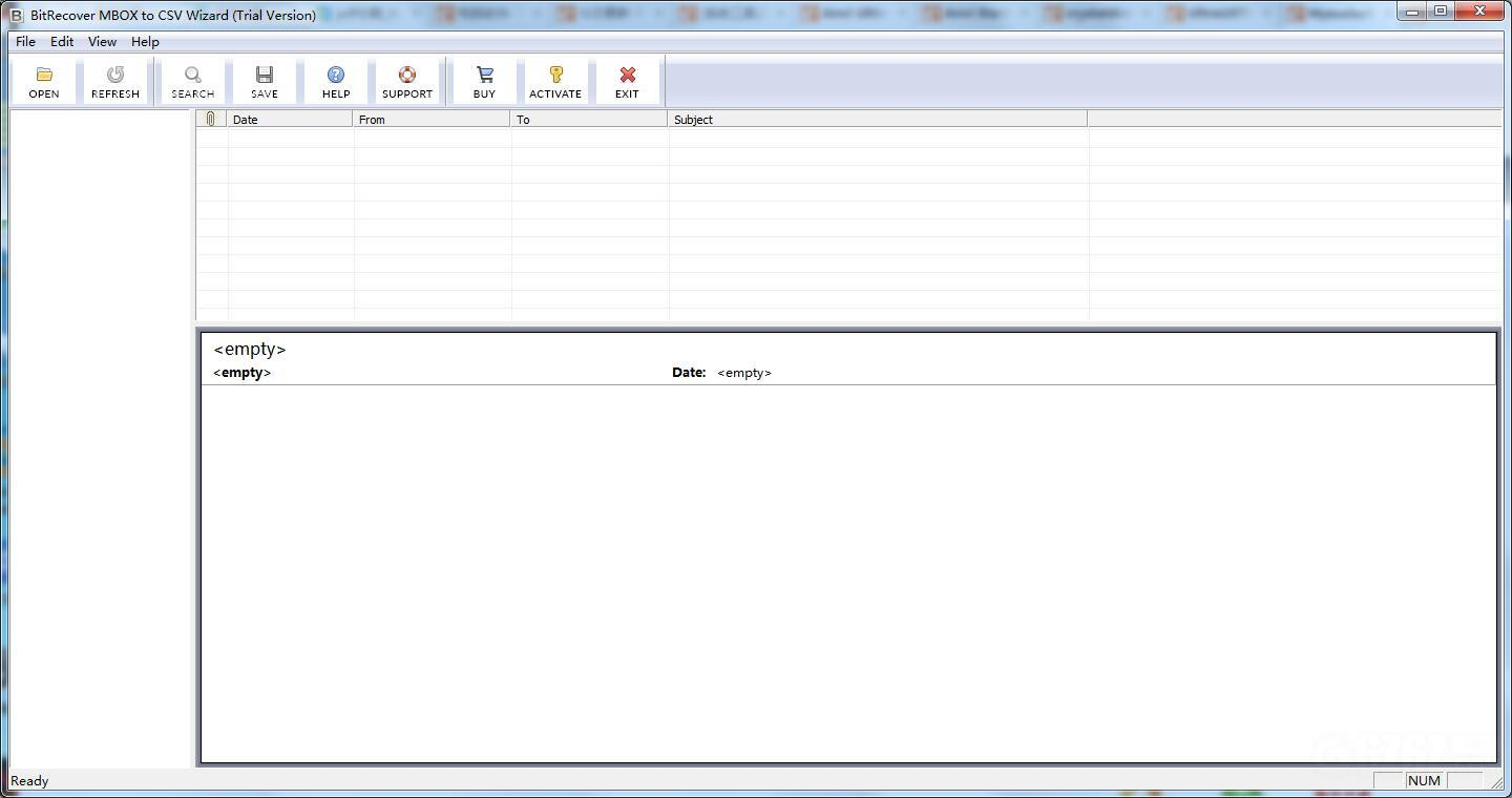 BitRecover MBOX to CSV Wizard