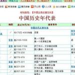 中国历史年代表 v1.5.120906正式版