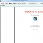 MDict v1.3 RC4 中文版