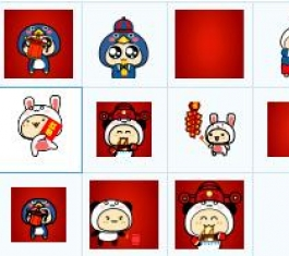 奇想咕噜团新年表情 官方版
