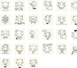 简单猫猫QQ表情 官方版