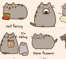 Pusheen The Cat表情 官方版
