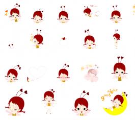 粒桃儿可爱QQ表情包 官方版