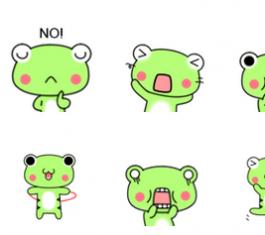 噜噜蛙大版调皮QQ表情 官方版