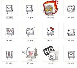小键人QQ表情包 官方版
