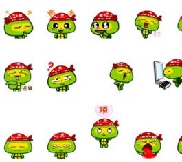 可爱福瑞宝贝QQ表情包 官方版