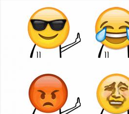 emoji恶搞竖中指QQ表情包 官方版
