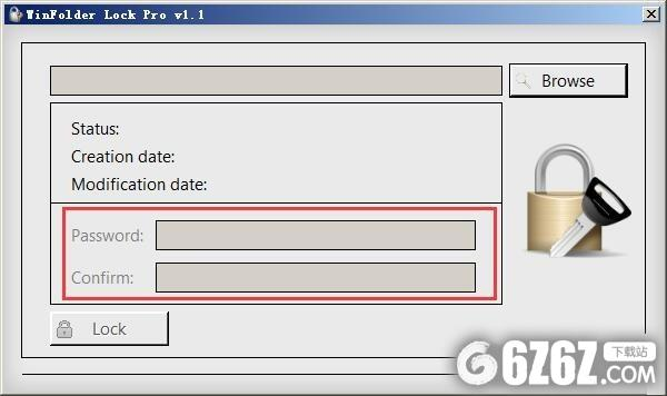 WinFolder Lock Pro