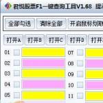 君悦股票F1一键查询工具 v1.68官方版