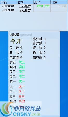 蓝光迷你股票(桌面股票) v9.5官方版