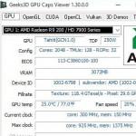 GPU Caps Viewer(显卡诊断识别)V1.30.2免费版
