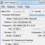 Core Temp(CPU监测工具) V1.2绿色版