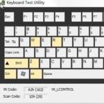 键盘按键测试软件(Keyboard Test Utility)v1.0.1.0绿色版