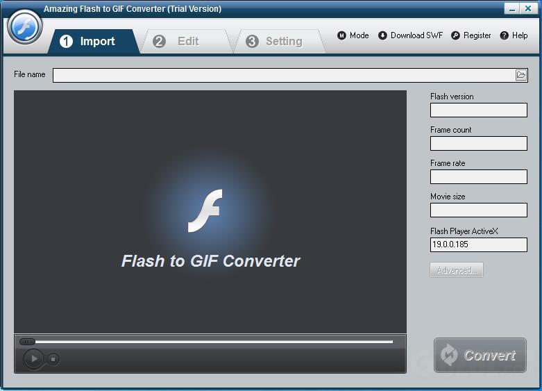 Amazing Flash to GIF Converter