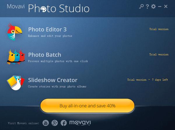 Movavi Photo Studio(影楼图片工作室)v1.0.3官方版