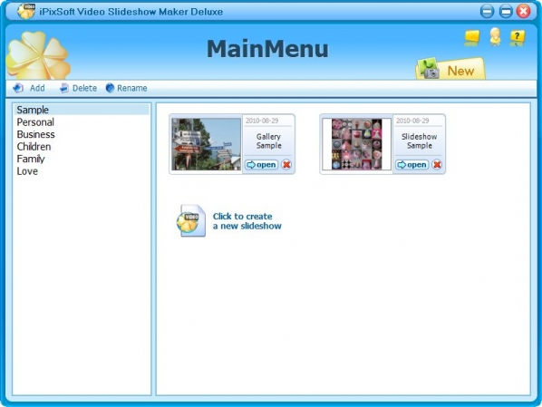 电子相册制作软件(iPixSoft Video Slideshow Maker)v3.4.1.2免费版