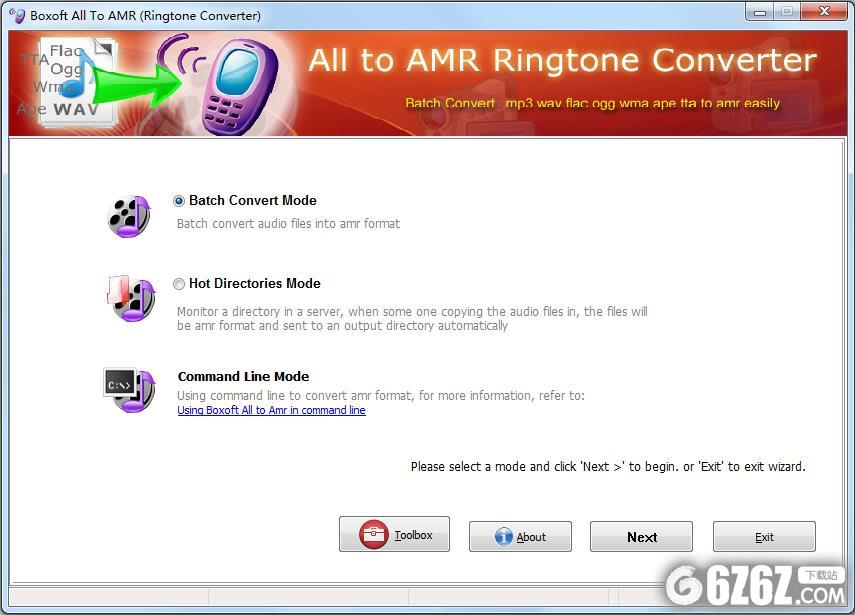 Boxoft All to Amr Converter